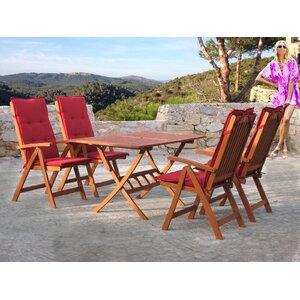 4-Sitzer Gartengarnitur Santos mit Polster von Grasekamp