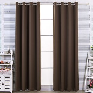 Briarden Solid Blackout Thermal Grommet Curtain Panels