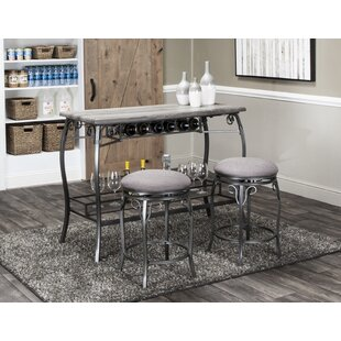 Wilber 3 Piece Pub Table Set