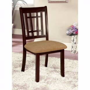 Mahe Transitional Solid Wood Dining Chair (Set of 2)