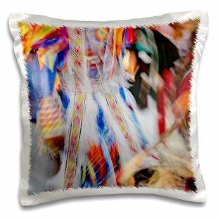 Native American Indian Dance Montana Pillow Cover