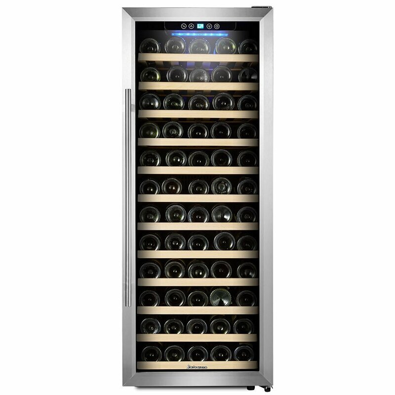 Kalamera 80 Bottle Single Zone Freestanding Wine Cooler