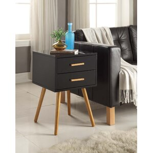 Phoebe End Table With Storage