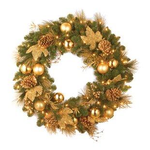 clear lights wreaths joss main