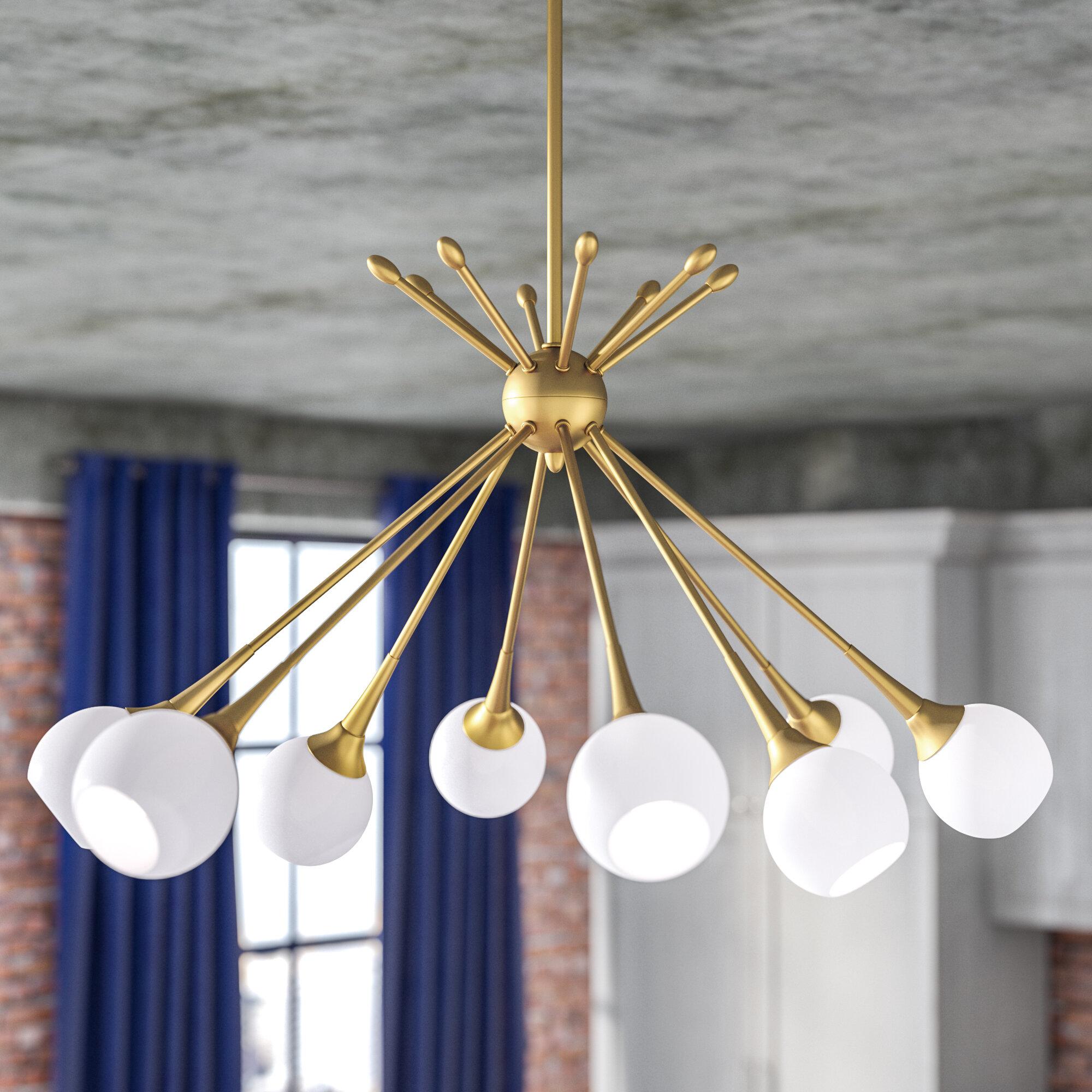 Langley Street May 8 Light Sputnik Chandelier & Reviews