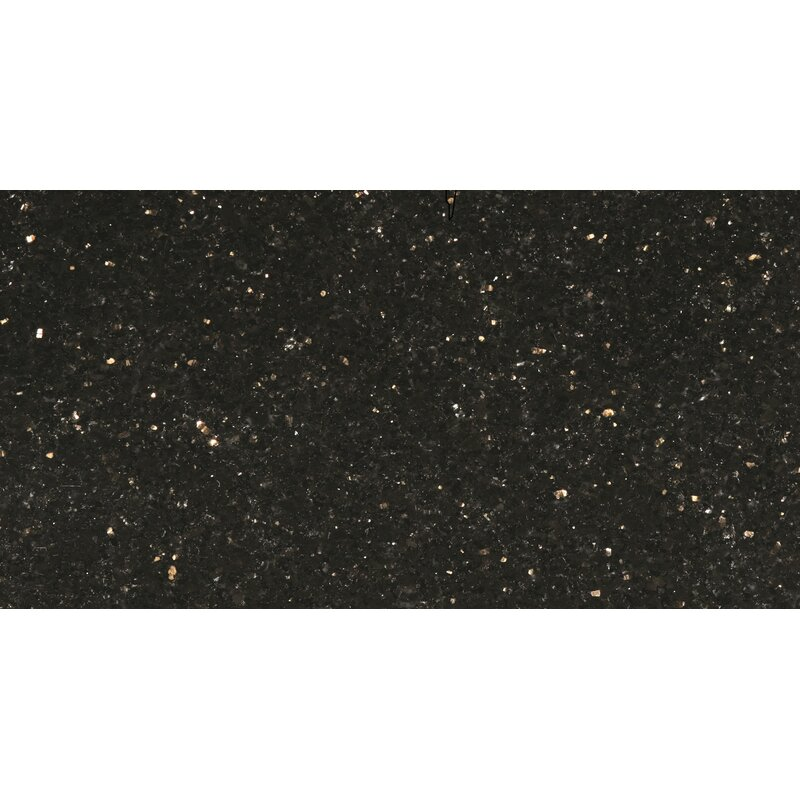 Emser Tile Galaxy Black 12 X 24 Granite Tile Wayfair