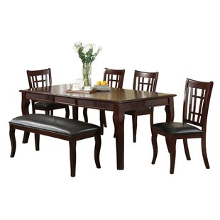 Derek Extendable Solid Wood Dining Table