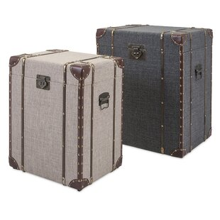 Outer Banks 2 Piece Storage Trunk Set