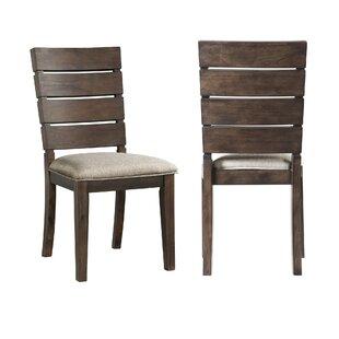 Burkhart Upholstered Dining Chair (Set of 2)