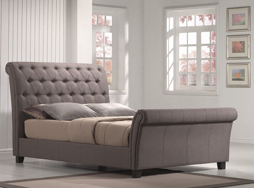 Wayfair Upholstered Bed Home Wayfair Upholstered Bed King: House Of Hampton Lilou Upholstered Sleigh Bed & Reviews