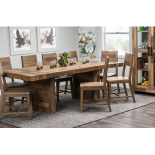 f8cc156bb Norman Extendable Solid Wood Dining Table