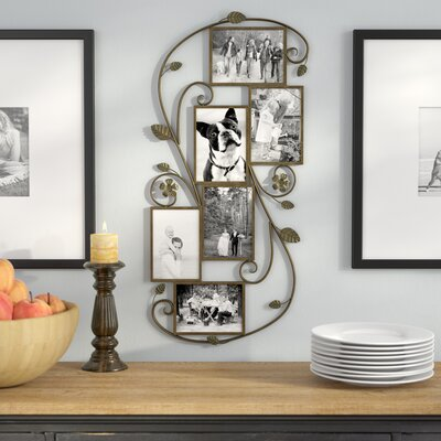 Collage Amp Floating Metal Picture Frames You Ll Love Wayfair