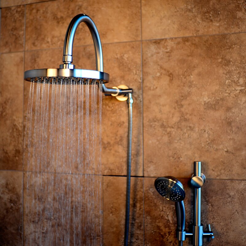 Pulse Shower Spas Diverter Complete Shower System | Wayfair