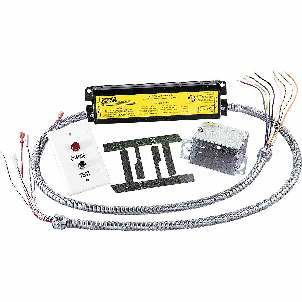 Progress lighting emergency battery pack for recessed lighting wayfair aloadofball Images