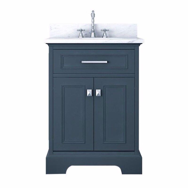red barrel studio coston 25 single bathroom vanity set wayfair rh wayfair com 25 bathroom vanity with drawers bathroom vanity top 25x22