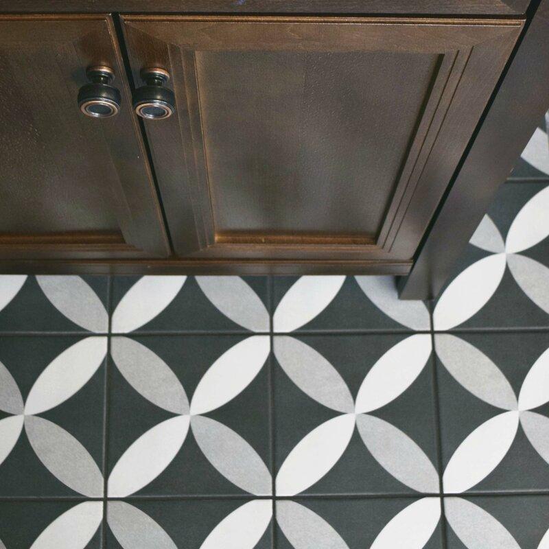 Forties 7 75 X Ceramic Field Tile In