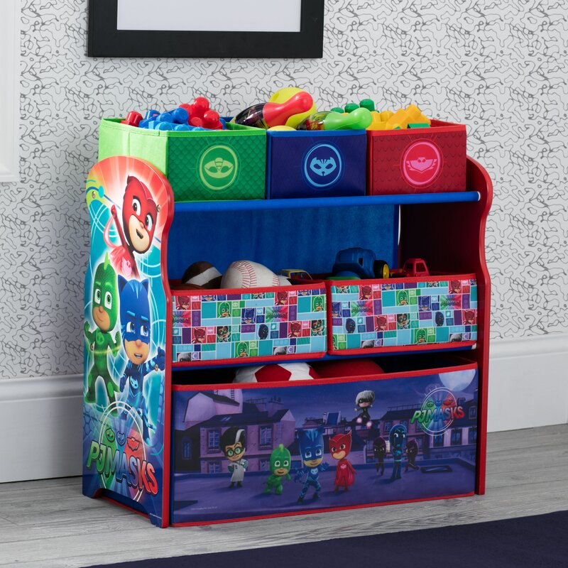 Delta Children Pj Masks Multi Bin Toy Organizer Reviews Wayfair