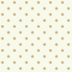 Waverly Kids Circle Sidewall 33 X 205 Polka Dot Wallpaper