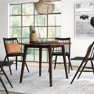 Hidalgo Drop Leaf Solid Wood Dining Table