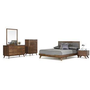 modern queen bedroom sets. Hali Platform 5 Piece Bedroom Set Modern Queen Sets  AllModern