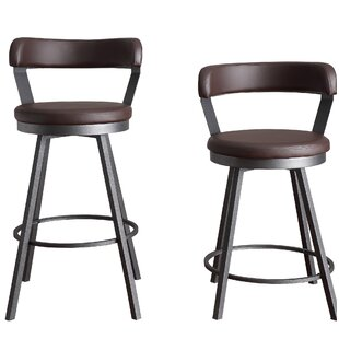 Fabulous Purchase Laub 24 Swivel Bar Stool Set Of 2 By Williston Machost Co Dining Chair Design Ideas Machostcouk