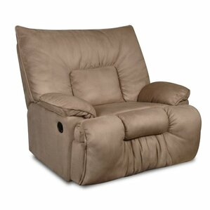 Cambarville Manual Recliner by Simmons Upholstery  sc 1 st  Wayfair & Oversized Recliners Youu0027ll Love | Wayfair islam-shia.org