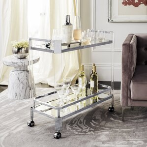 Jancis Bar Cart by Rosdorf Park