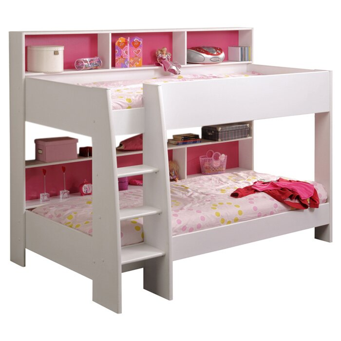 Bunk Beds With Storage just kids myles bunk bed with storage & reviews | wayfair.co.uk