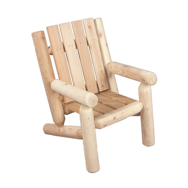 Rustic Foyer Jr : Rustic cedar junior log arm chair reviews wayfair