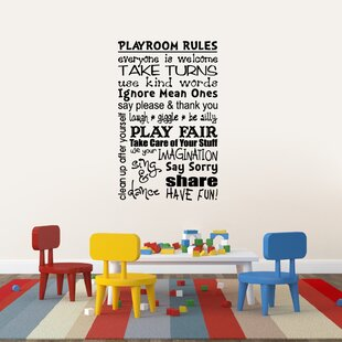 Amazing Kids Playroom Wall Decals | Wayfair