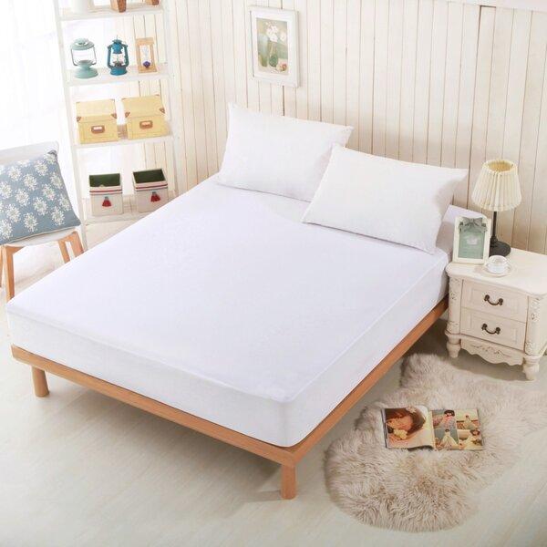 greenzone sleep jersey waterproof mattress protector u0026 reviews wayfair - Waterproof Mattress Pad