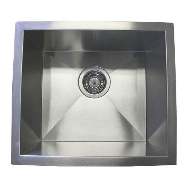 17 x 15 single bowl undermount kitchen sink reviews allmodern 17 x 15 single bowl undermount kitchen sink workwithnaturefo
