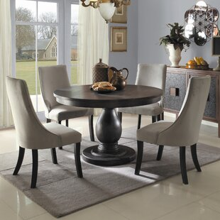 barrington 3 piece dining set 42 inch round dining table   wayfair  rh   wayfair com