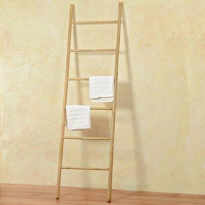 Bayou Breeze Hinson Bamboo 6.5 ft Blanket Ladder