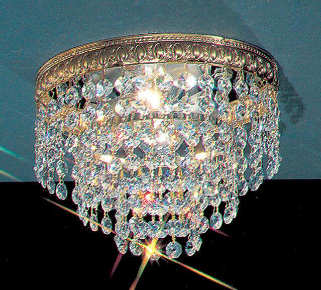 Crystal Light Flush Mount Wayfair