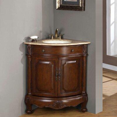 Hannah 32u201d Single Sink Cabinet Bathroom Vanity Set