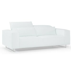 Bellini Modern Living Giadia Leather Loveseat Image