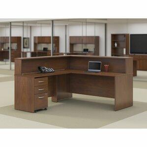 Series C Elite L Shape Reception Desk