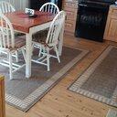 Charlton Home Westlund Wicker Stitch Cocoa Natural Indoor