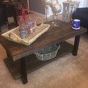 Loon Peak Somers 42 Quot Wood Metal Coffee Table Amp Reviews