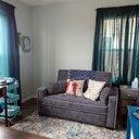 Bungalow Rose Crosier Gray Light Blue Area Rug Amp Reviews