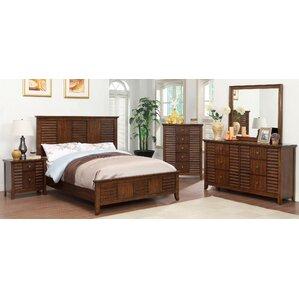 Tora Panel Customizable Bedroom Set