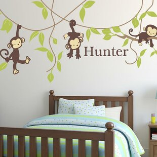Monkey Around Wall Decal