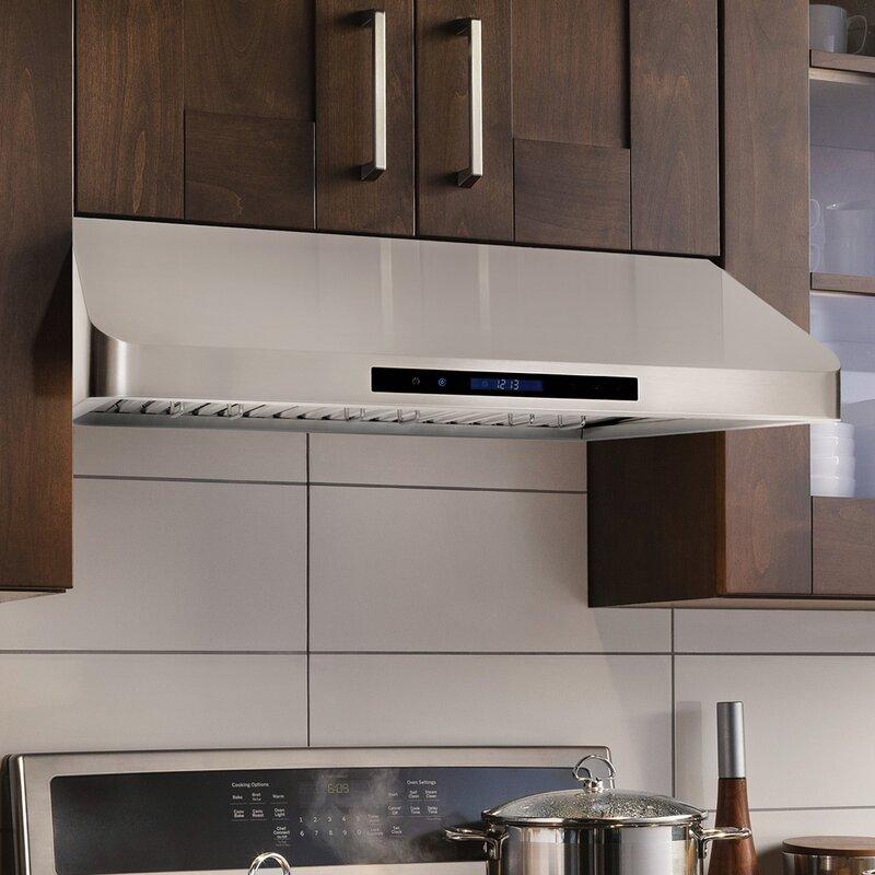 36 900 Cfm Ducted Under Cabinet Range Hood