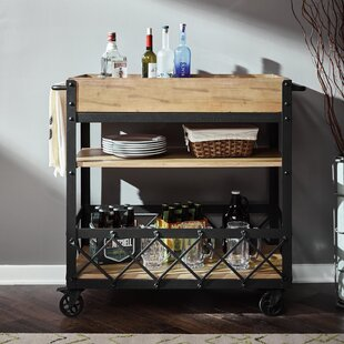 DeBary Rolling Bar Cart