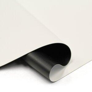 "Designer Cut Matte White 135"" diagonal Portable Projection Screen"