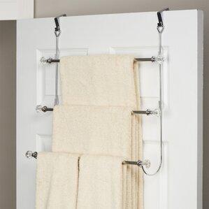 wayfair basics 3 tier overthedoor towel rack