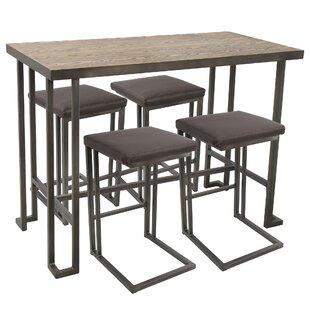 Healdton Counter 5 Piece Pub Table Set
