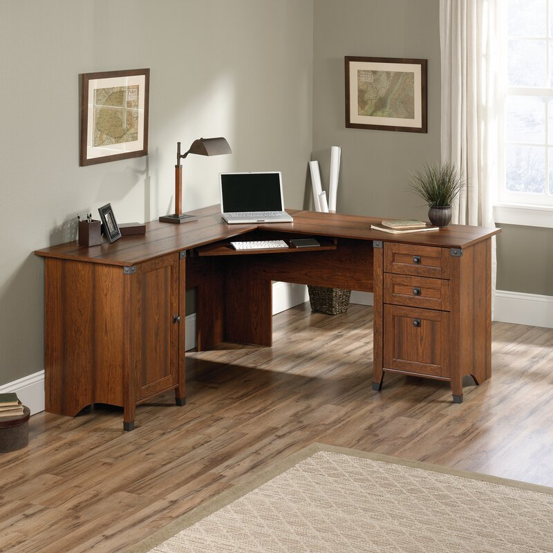 Loon Peak Newdale L Shaped Computer Desk Reviews