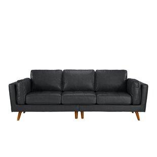 Incroyable Grey Sofa Leather Sofas Youu0027ll Love | Wayfair
